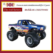 Mini metal and ABS racing cross country vehicle model car