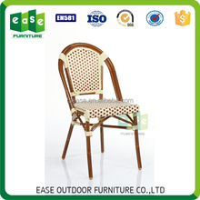 New design rental bamboo look hotel furniture chair for outdoor -E6017