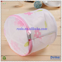Polyester fabric durable laundry bag with printing