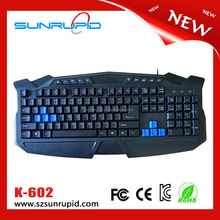 Cheapest Professional Wired Keyboard Gamer From Factory In Market