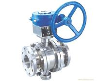 Yafa spare parts for all size of double flange butterfly valve