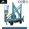 four wheels articulated spider boom lift for aerial work