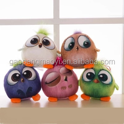 Crane machine toys, cute 3D plush toy bird, gift for kids