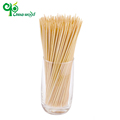 Beautiful design bamboo round shrimp food bbq skewers