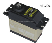 HBL200 high voltage brushless motor servo/high torque metal gear servo/toy servo for rc helicopter