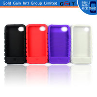 Genuine Phone Silicon Cover For iPhone 4S