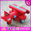wholesale kids mini wooden toy plane W04A198-S