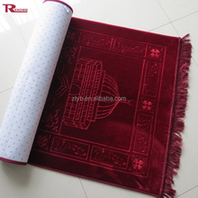 cheap price islamic thick prayer rug