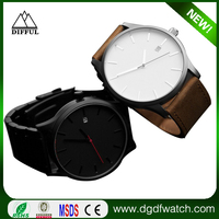 Factory directly price , Hot Selling Wholesale Unisex Beautiful Fashion Leather Watch