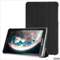 New Arrival flip back stand leather case cover for Lenovo Thinkpad 8 with retail package