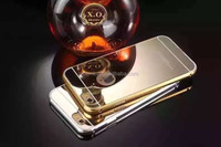 bulk cell phone mobile luxury mirror case cover case for iphone 5 24k gold plating back cover