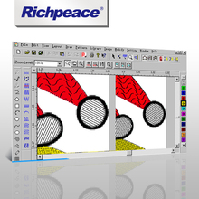 Richpeace Embroidery Quilting Design Pro 2000 CAD Software