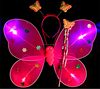 AC6006 cheap fairy wings with glitter,fairy wings for girls