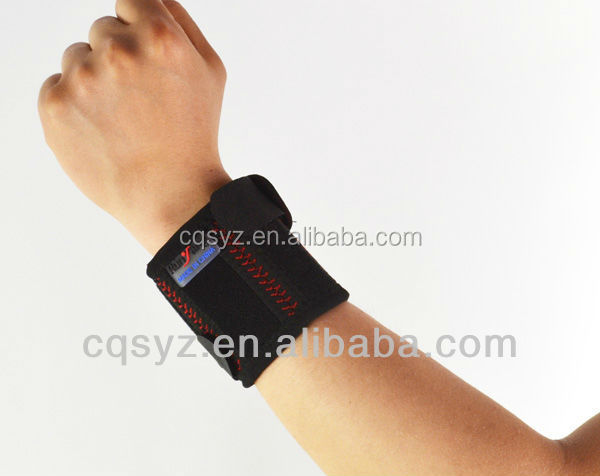 Color box packing neoprene wrist protector