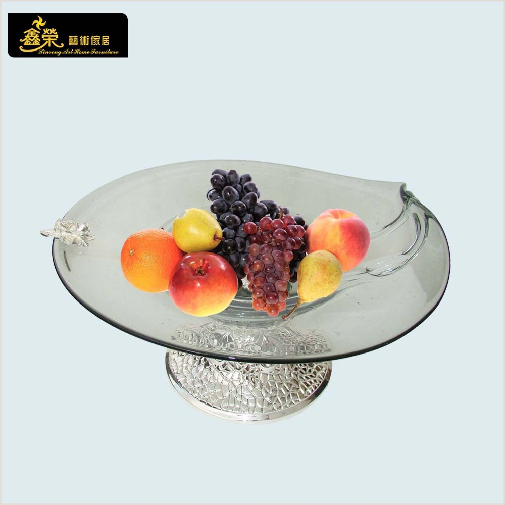 VP -1459 Blown glass fruit bowl glass pate decoration crafts