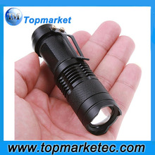 300 Lumen High Power Bright Light Portable Zoom Focus Tactical Flashlight
