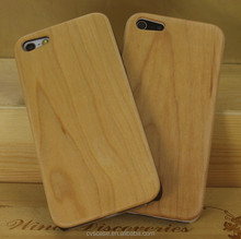 Hot Selling Wooden Cell Phone Case for iPhone 5 Case,Vintage Bamboo Case for iPhone 5