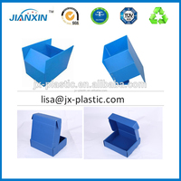 Small Colorful Stackable Plastic Corrugated PP packaging box