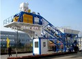 mobile concrete mixing plant YHZS40,concrete batching plant from china Dongfeng for sale