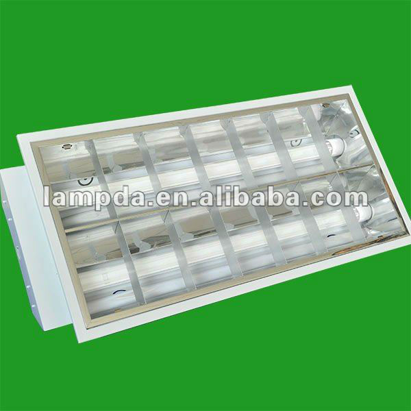 T8 Louver Light Fittings 24w 300mm*600mm