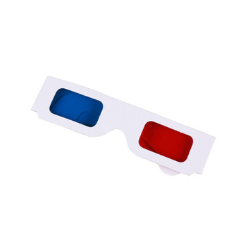 Unionpromo Custom Cinema Red/Cyan Cardboard 3D Glasses 3D paper glasses disposable 3D glasses