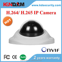 Kendom Best Selling Vandal proof Dome IP Camera Full HD 720P 1080P Network Security Camera System