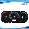 Custom Autobile Car Speedometer Faceplates For MPH Scales