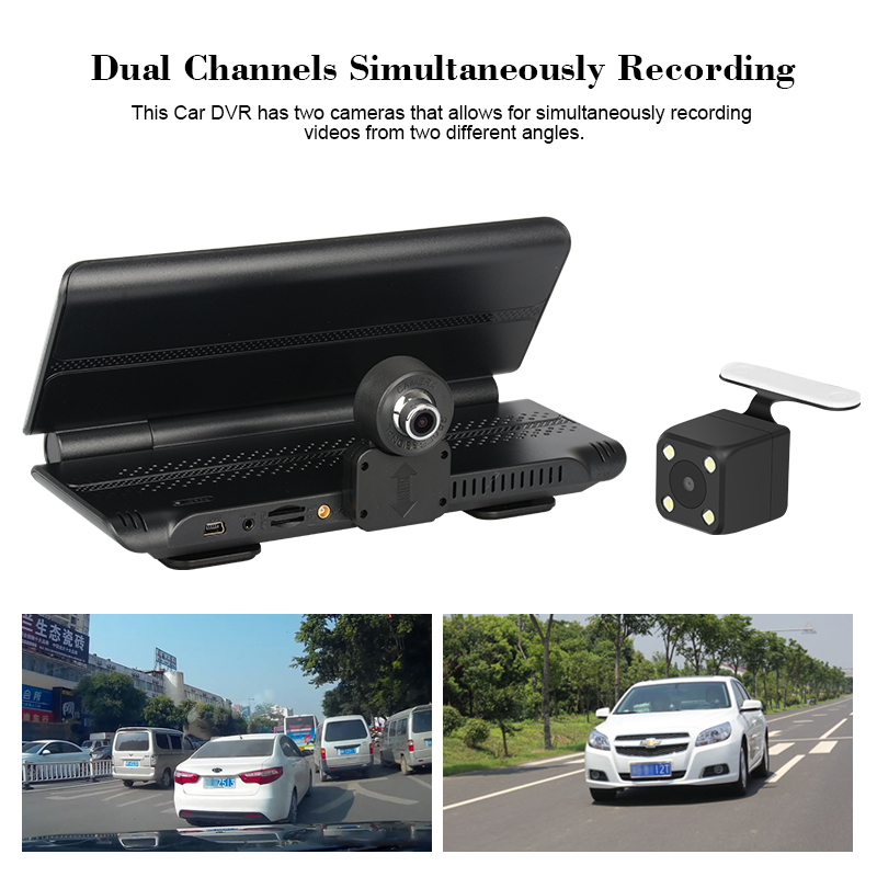 Factory hot sale wifi motorcycle dvr camera hd car cctv