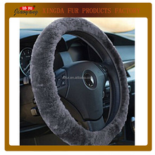 Universal Australian sheepskin lambskin 14 inch steering wheel covers