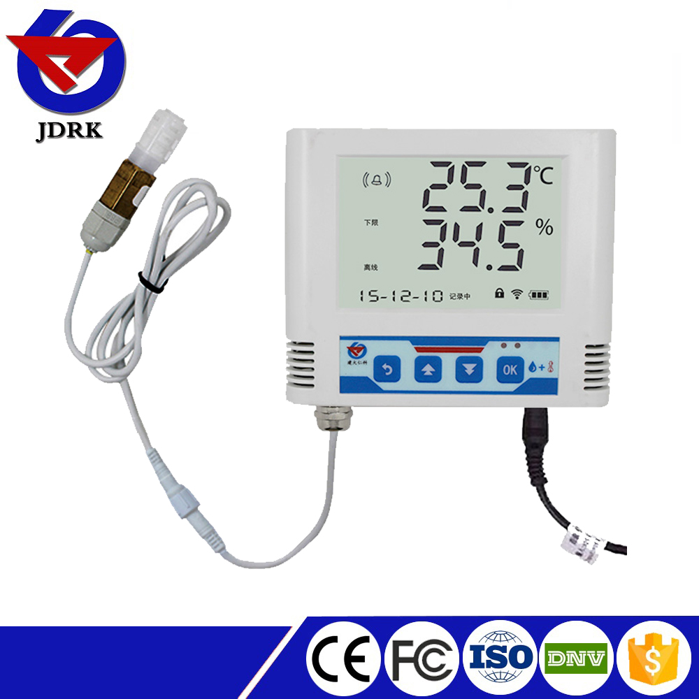 2017 RS-WS-N01-6-6 485 large LCD Temperature and Humidity Data Logger