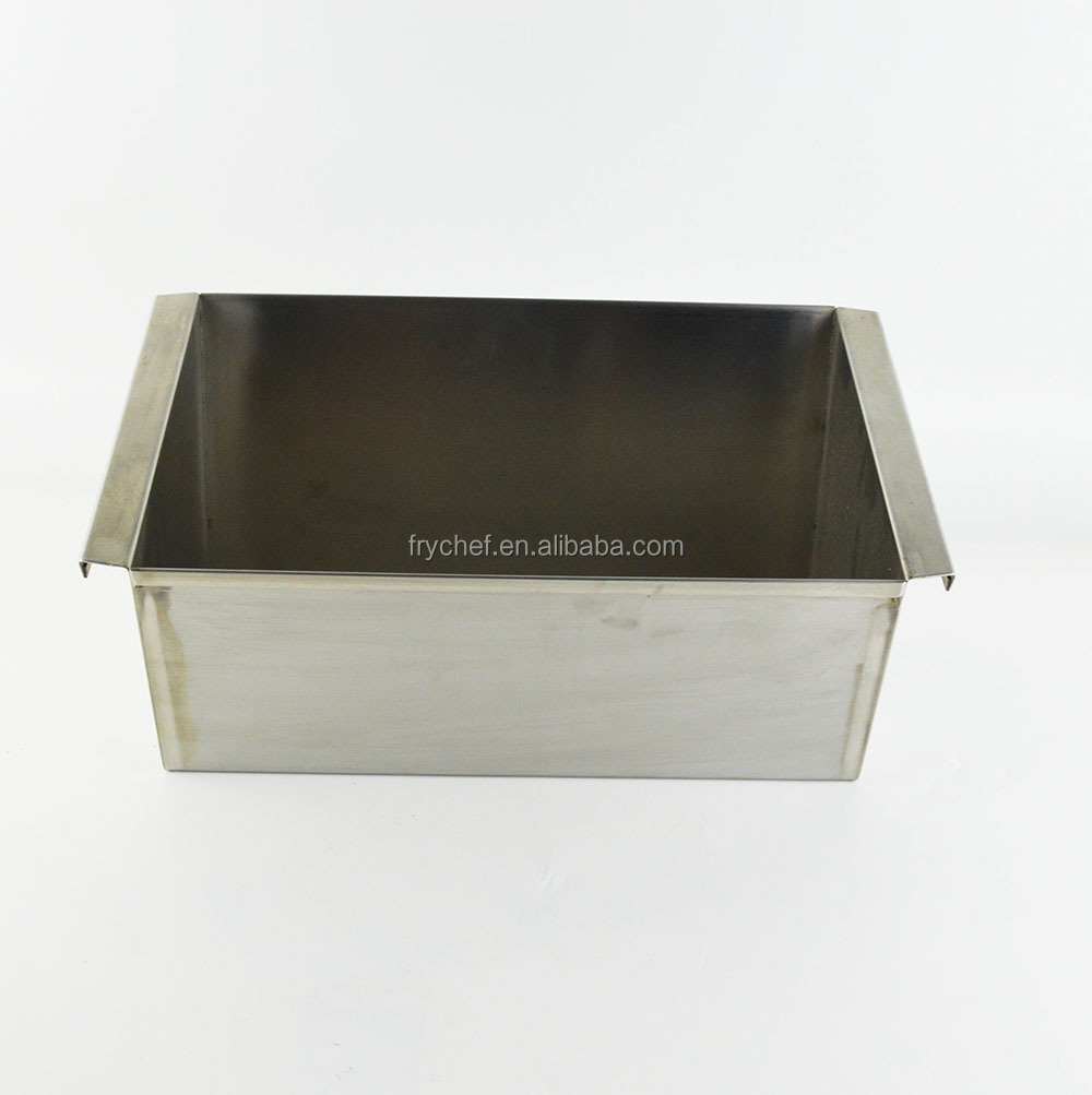 Acceptable Custom Made Stainless Steel Rectangular Sink Container Tray