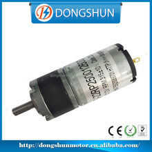 DS-22RP250 small battery powered dc gear motor 6v
