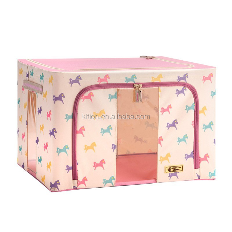 Home Folding Storage Box Korea style foldable storage bin