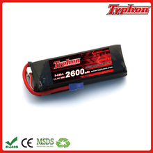 3s 11.1v 2600mah lipo battery 35c rechargeable battery for RC Helicopter Multicopter