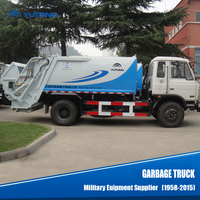 YUTONG Small 6 Cbm/M3 Garbage Truck For Sale