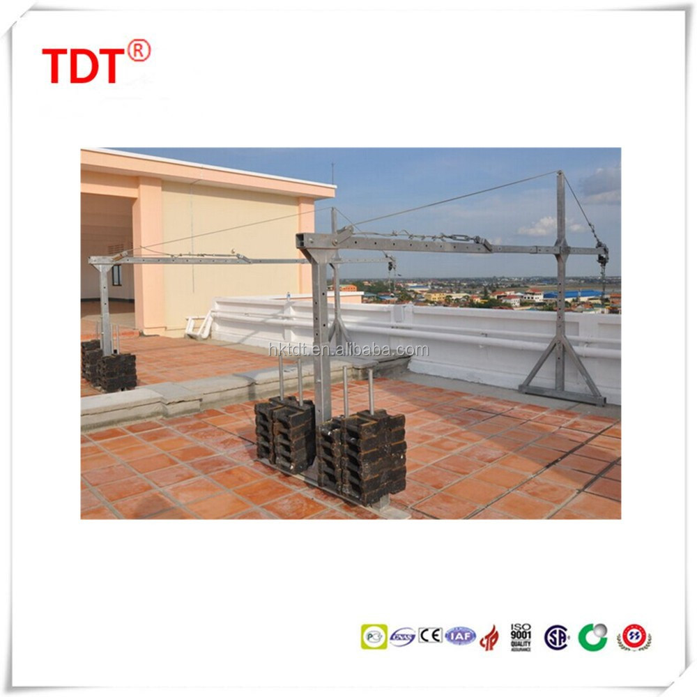 Lifting device for aerial working platform/suspended platform/construction cradle
