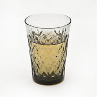 high quality glass of wine factory manufacturer cup of coffee Pattern with water drop for home