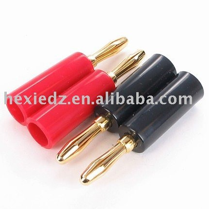4 mm plug secure electrical plug female banana plug