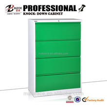 Factory direct cheap metal file cabinet/ steel 4 drawer cabinet