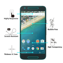 Full body 2016 wholesale glass screen guard for Nexus 6P