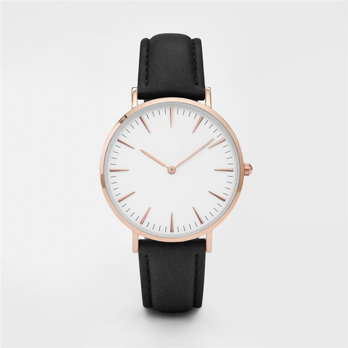 Longbo OEM classic business watch with genuine leather swissing quartz movement girl latest hand watch