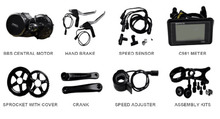 High Quality Electric Motorcycle Conversion Kits Made In China