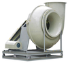 China hot anti-Corrosion industrial exhaust centrifugal fiber glass blower fan