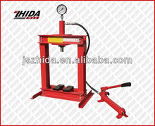 Auto Repairing Tools Hydraulic / Pneumatic Shop Presss with Winch Capacity
