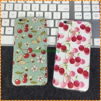 Fashion 3D Fruit Painted Pattern Soft TPU Mobile Phone Case for iphone 7 plus
