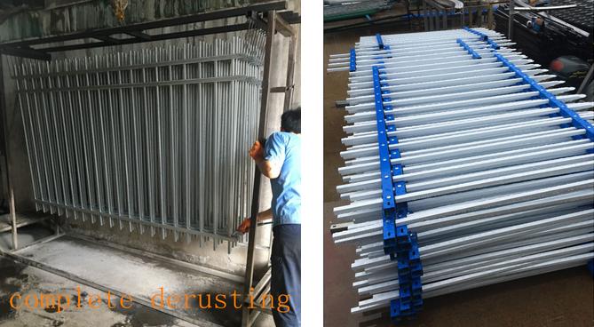 pool fence / garden fence / zinc steel fence