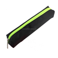 Colorful cheap neoprene pencil pouch with zipper