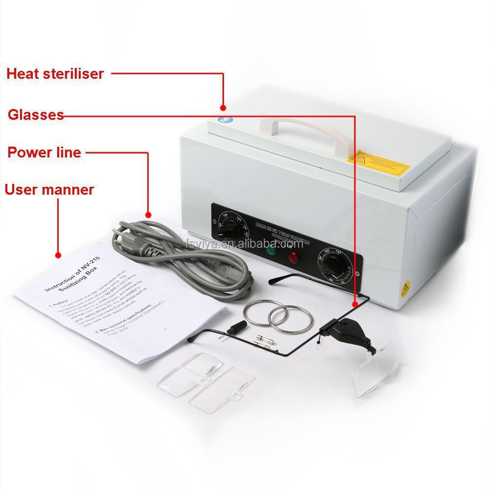 Vy 210 Thermal Nail Tool Sterilizer Beauty Salon Dry Heat