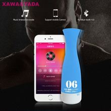 Smart APP Interactive Control Bluetooth Vibrating Oral Aircraft Cup Passion Cup Male Masturbator Sex Electric Masturbation Cup