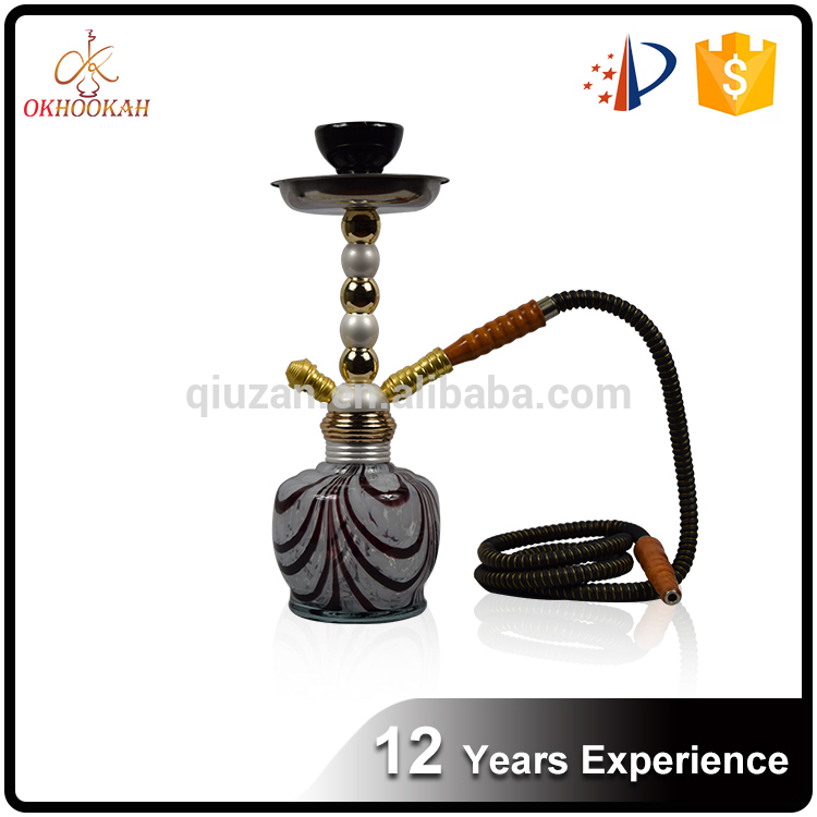 Alibaba Top Manufacturer new modern design shisha hookah for Saudi Arabia